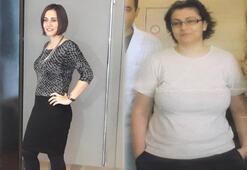 4 ayda 40 kilo verdi