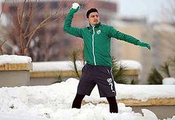 Bursasporda kar topu savaşı