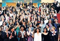 Cannes'da kadınların tarihi duruşu