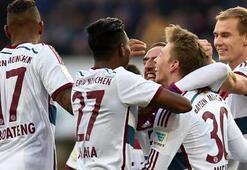 Bayern gole doymuyor, Wolfsburg takipte