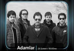 ADAMLAR Hard Rock Cafe İstanbul Sahnesinde