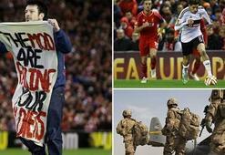 Liverpool-Beşiktaş maçına sniper girmiş