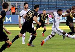 Osmanlıspor 2-3 Beşiktaş (İşte maçın özeti)