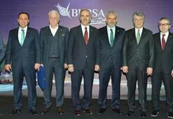 Bursaspor Timsah Arenayı işadamlarına tanıttı