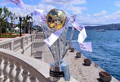 Şampiyonluk kupası İstanbul Boğazında görücüye çıktı