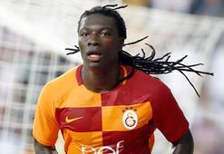 Galatasaray'ın forvet oyuncusu Gomis