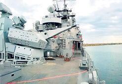 Savaş gemisine 'Korkut' kalkanı