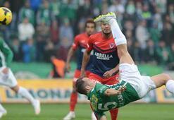 Bursaspor - Mersin İdman Yurdu: 2-1