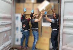 Dubaiden gelen gemide buldular Tam  2 milyon 500 bin paket...