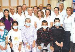 Bu hastanede bir yılda 92 kişi yeniden doğdu