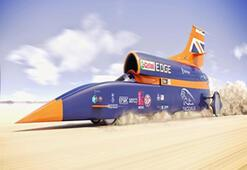 Dünyanın En Hızlı Aracı 'Tazı' Test Sürüşünde