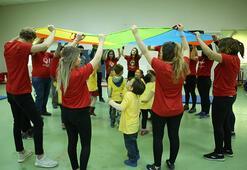 """Özel çocukların gelişimi """"Minik Sporcular"""" projesiyle destekleniyor"""