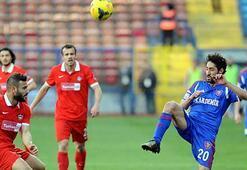 Kardemir Karabükspor-Gaziantepspor: 0-0