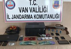 Van'da terör operasyonu: 9 gözaltı