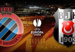 Beşiktaş Club Brugge maçı ne zaman saat kaçta hangi kanalda