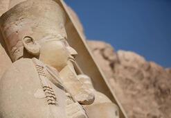 Kadın firavun Hatşepsutun tapınağı ilgi çekiyor