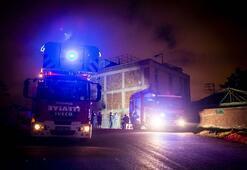 Ankara'da 3 katlı binada göçük