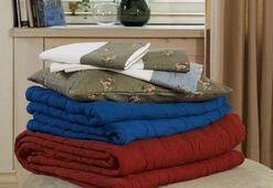 Ev tekstili ürünlerine bahar dokunuşu