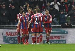 Bayern Münih gaz kesmedi