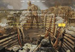 Yandexten 18 Mart Çanakkale Zaferi için özel çalışma