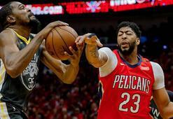 Warriors ve Rockets konferans finaline yaklaştı