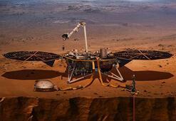NASAnın yeni insansız uzay aracı InSight, Marsa doğru yola çıktı