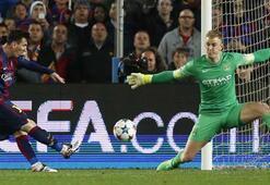 Messi: Joe Hart bir fenomen