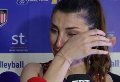 Neslihan Güler gözyaşlarıyla veda etti