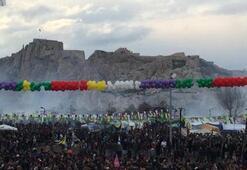 Nevruz kutlamasında olay çıktı
