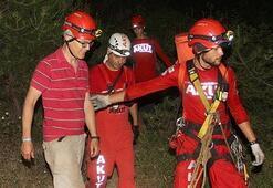 Kaybolan Hollandalı turisti AKUT ekibi buldu