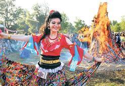 Edirne'de  'Kakava ateşi' yandı