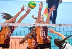 CSM Volei Alba-Galatasaray: 3-1