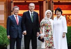 Cumhurbaşkanı Erdoğan, Moonun tweetini paylaştı