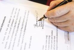 Başbakan Yıldırım dilekçeyi imzaladı