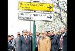 Eskişehir'de Yazıcıoğlu Caddesi