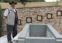 Oyuncu Yakup Yavru kendisine mezar yaptırdı