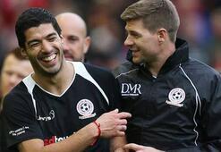 Suarez ile Gerrardın Fenerbahçe dileği