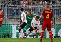 Roma-Liverpool maçında ilginç gol