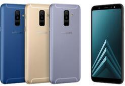 Samsung Galaxy A6 ve A6 Plus resmiyete kavuştu
