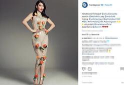 Hande Yener sosyal medyayı salladı