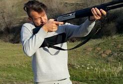Batuhan Karadenizden tüfekli paylaşım