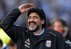 Maradona ona selam gönderdi...