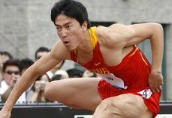 Liu Xiang atletizmi bıraktı