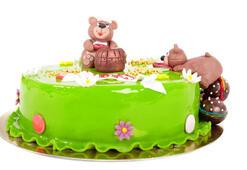 Sütsüz, yumurtasız doğum günü pastası