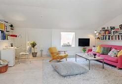 Rahat ve sevimli bir İsveç evi