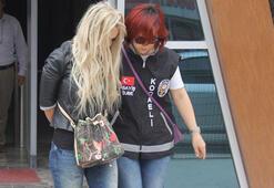10 kişilik gasp çetesinin lideri kadın çıktı