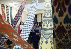 Emine Erdoğan, Taşkent Sanat Galerisini  ziyaret etti