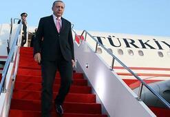 Cumhurbaşkanı Erdoğan, ziyaretinin ikinci durağı olan Buhara'ya geçti