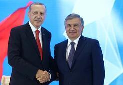 Özbekistan ile 25 anlaşmaya imza