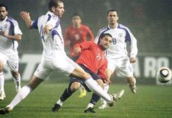 Tello'dan İsrail'e gol